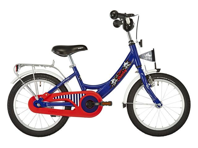 """Puky Capitan Sharky - Vélo enfant 16 """" - bleu"""